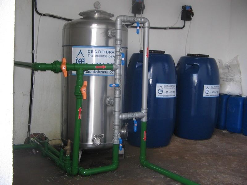 Contrato de fornecimento de água potável