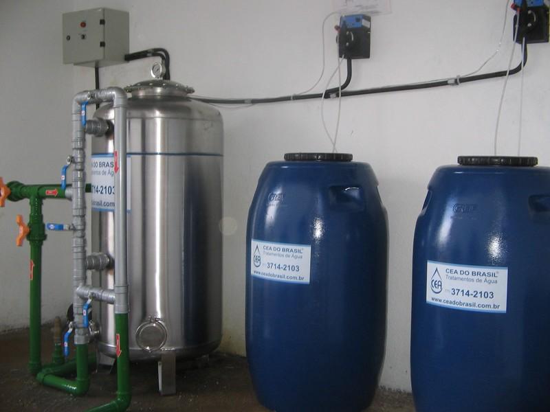 Desinfecção de água potável