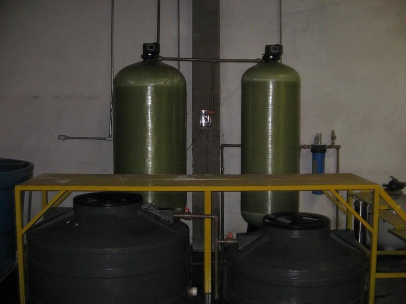 Filtro desmineralizador industrial