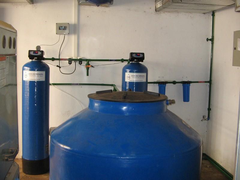 Filtro para desmineralizar água
