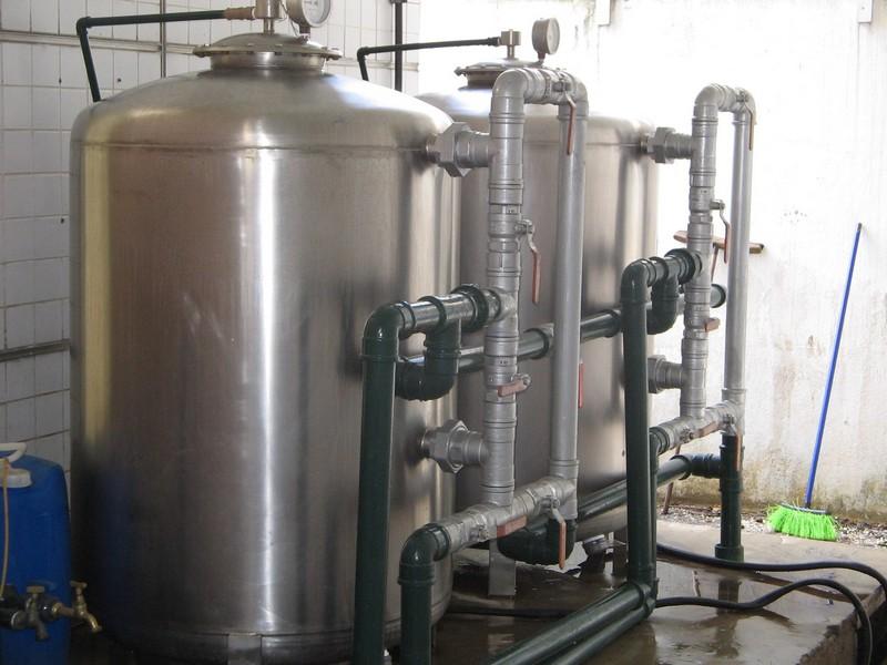 Filtro para remoção de ferro na água