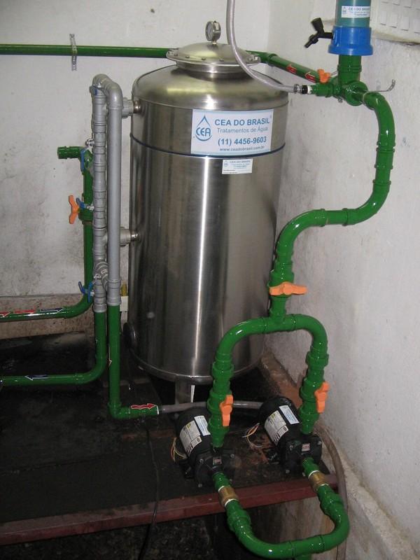 Filtro para remover ferro