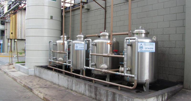 Manutenção estação de tratamento de água