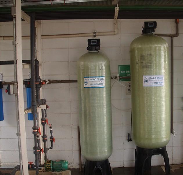 Deionizador de agua preço
