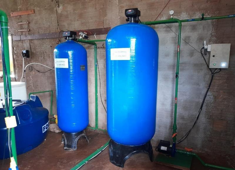 Desmineralização de água para caldeiras