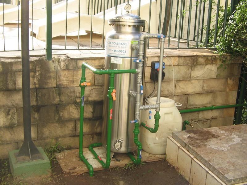 Empresa de tratamento de água