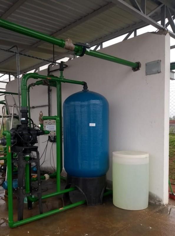 Empresas de estação de tratamento de água