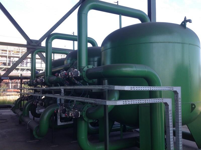 Empresas de tratamento de água industrial