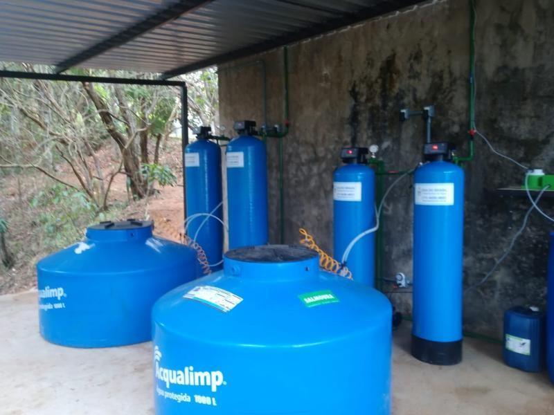 Estação de tratamento de água industrial