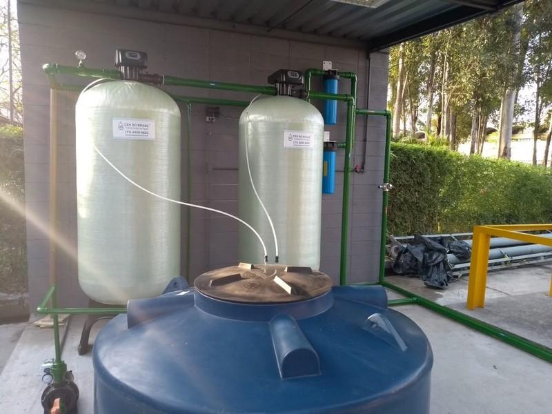 Filtro de água para caldeira