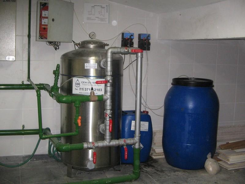 Filtro para ferro e manganês