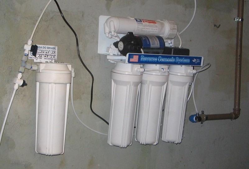 Filtro de osmose reversa