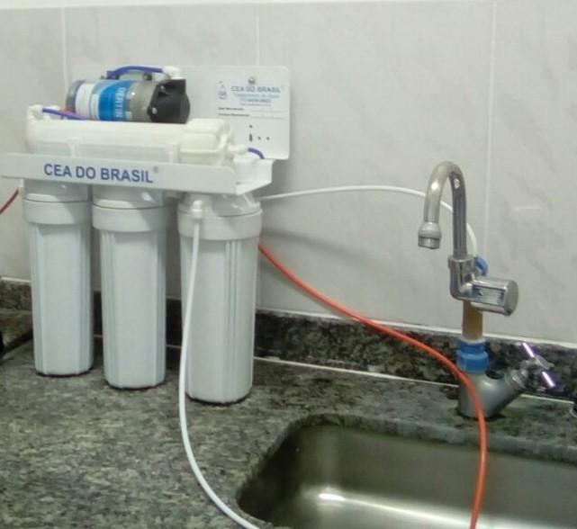 Filtro de osmose reversa residencial