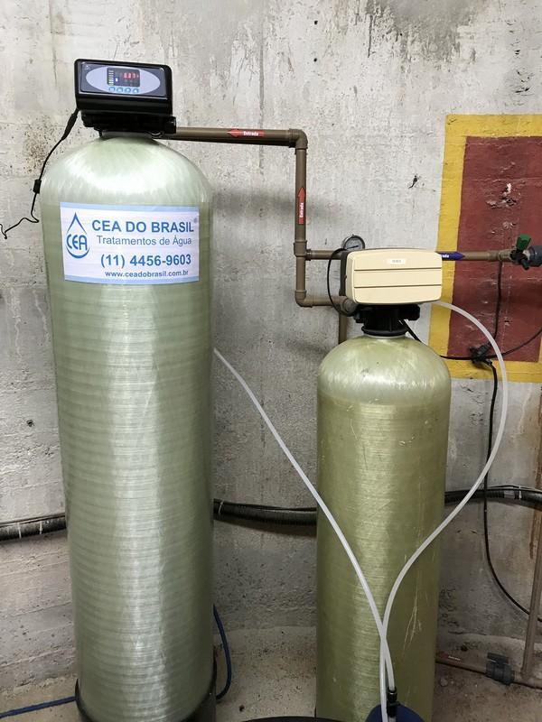 Filtro para remoção de fluoreto