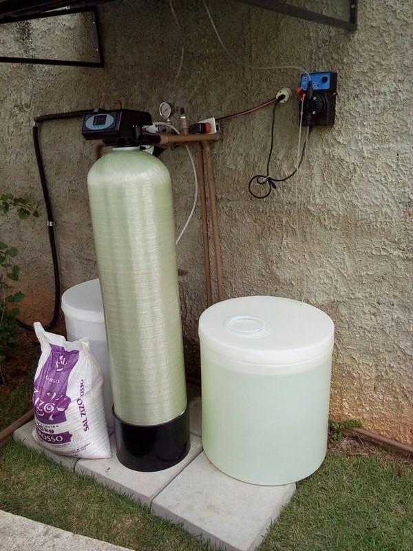 Filtro para retirar ferro da água