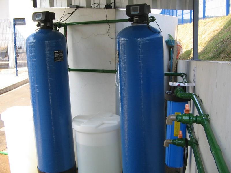 Filtro para tirar flúor da água