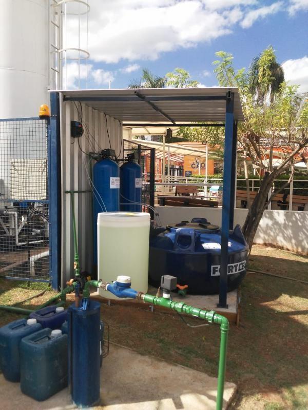 Filtro para tratamento de água de poço artesiano