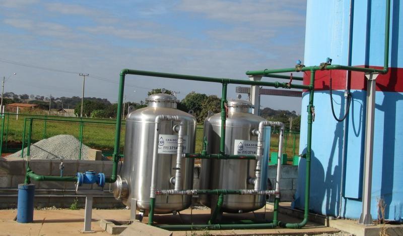 Serviço de estação de tratamento de água