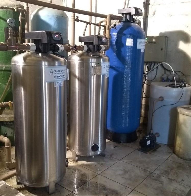 Serviço de tratamento de água
