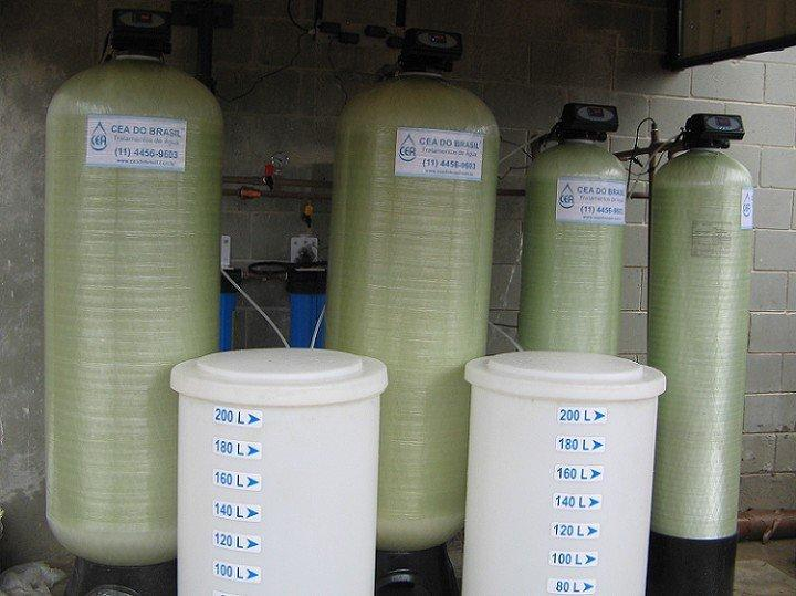 Sistema desmineralização de agua