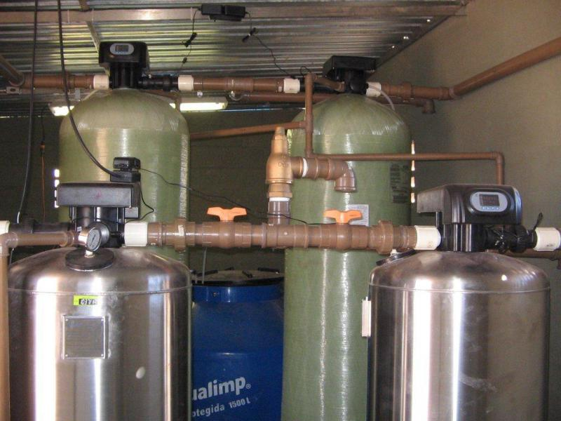 Tratamento de água de caldeira