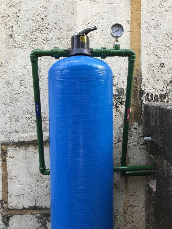 Tratamento agua ferruginosa