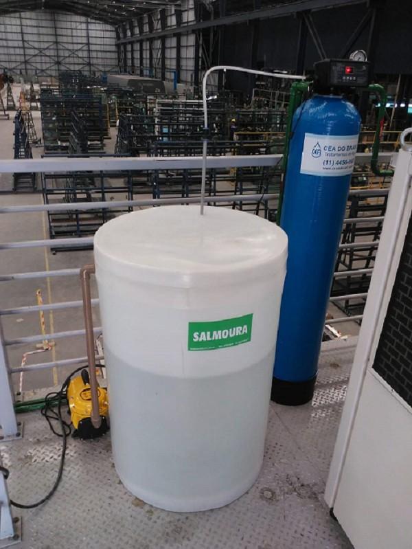 Tratamento de agua para geração de vapor