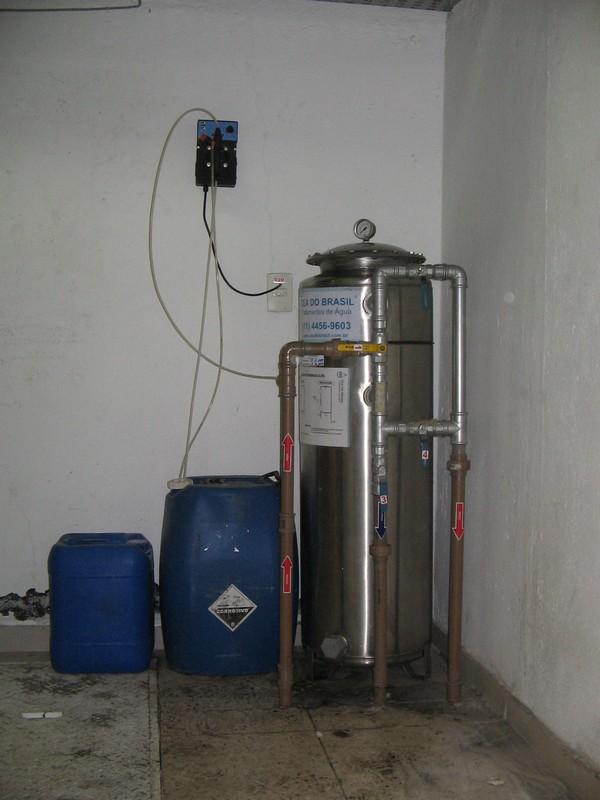 Tratamento de água de poço artesiano