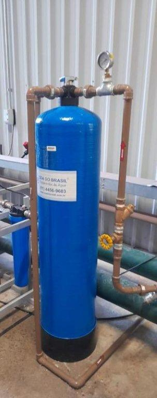 Tratamento de água poço caipira