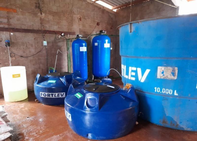 Tratamento de água para uso industrial